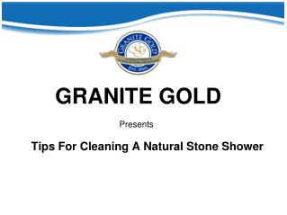Tips For Cleaning A Natural Stone Shower