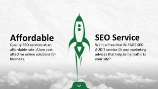 Free trial IN-PAGE SEO AUDIT service