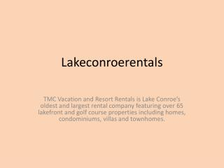 Lake Conroe Homes For Rent
