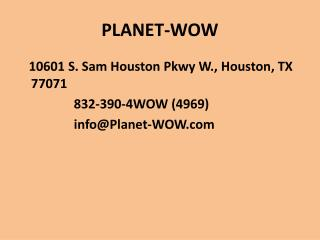 Kids Birthday Party Venues In Houston