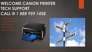 18889591458 Canon Printer Tech Support Number
