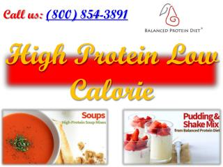 High Protein Low Calorie