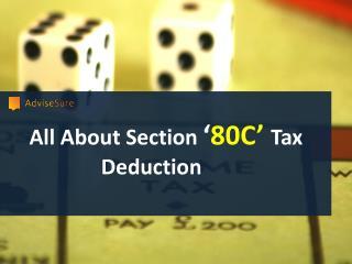 Best Tax saving schemes as per Section 80C