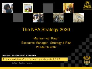 The NPA Strategy 2020