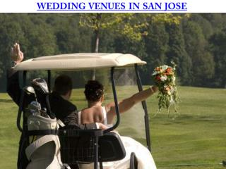 WEDDING VENUES IN SAN JOSE