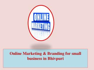 Online Marketing & Branding for Small Business in Bhivpuri