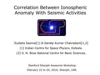 Correlation Between Ionospheric Anomaly With Seismic Activities