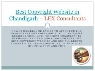 The best Copyright Website Services in Chandigarh