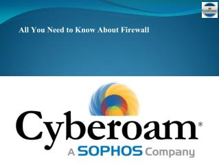 All You need to know About Firewall