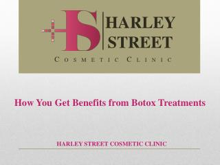 How You Get Benefits from Botox Treatments