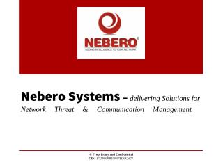 Nebero -Unified Threat Management Software