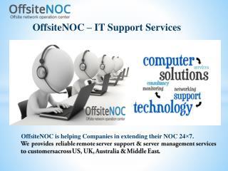 Remote Server Management