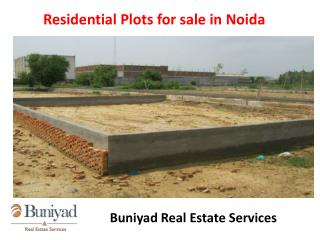 Residential Plots in Noida for sale