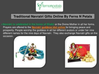 Send Navratri Gifts & Idols Online
