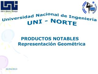 PRODUCTOS NOTABLES Representaci n Geom trica