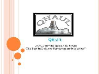 QHAUL-Quick Haul Service