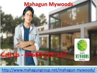 Mahagun Mywoods Luxurious Project
