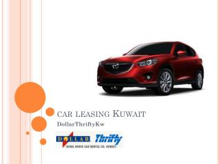 Car Leasing Kuwait  - Online Booking