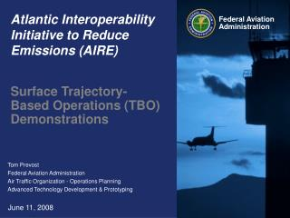 Atlantic Interoperability Initiative to Reduce Emissions AIRE