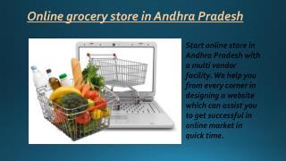Online grocery Andhra Pradesh