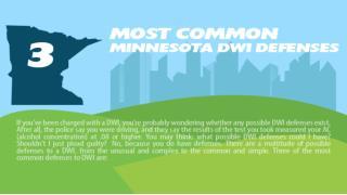 3 Most Common Minnesota DWI Defenses