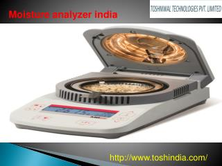 Moisture analyzer India
