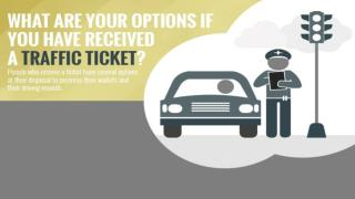 What are Your Options if You Have Received a Traffic Ticket?