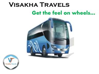 Travel Agents in Orissa - Visakha Travels