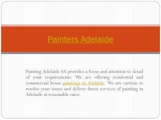 Adelaide Painters