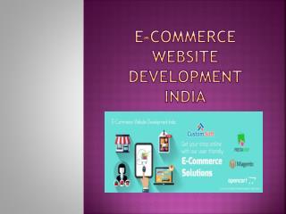 E-CommerceWebsite Development India