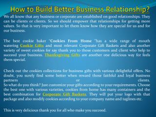 How to build better business relationship?