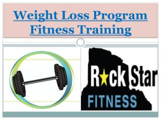 Weight Loss Program Fitness Training