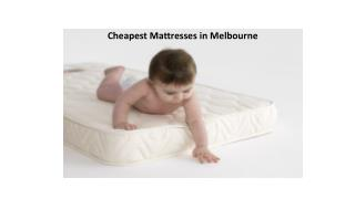 Cheapest Mattresses in Melbourne