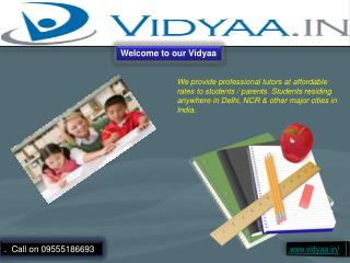 Best Home and Private Tuitions in Noida