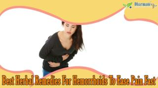 Best Herbal Remedies For Hemorrhoids To Ease Pain Fast
