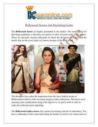 Bollywood Saree Online UK | Bollywood Replica Saree