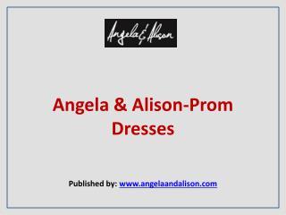 Angela & Alison-Prom Dresses