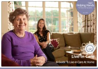 A Guide to Live-In Care at Home