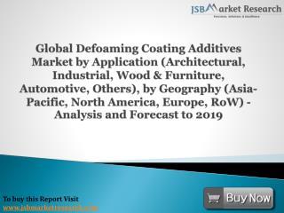 JSBMarketResearch: Global Defoaming Coating Additives Market