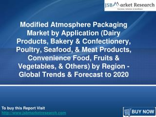 JSBMarketResearch: Modified Atmosphere Packaging Market
