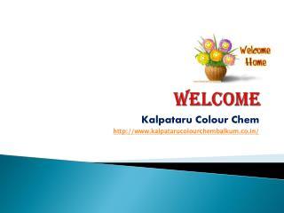 Kalpataru Colour Chem Balkum