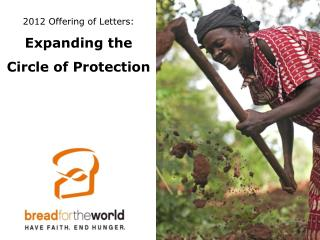 2012 Offering of Letters: Expanding the  Circle of Protection