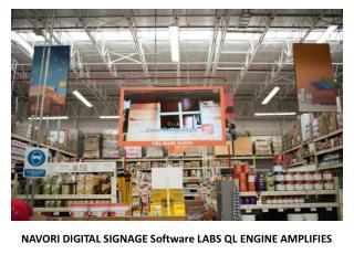 Navori Digital Signage Software Labs Amplifies