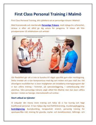 First Class Personal Training i Malmö