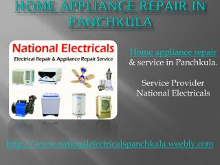 Washing Machine Repair in Panchkula - National Electricals