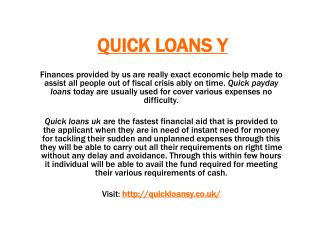 Quick Loans Y