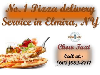 No. 1 Pizza delivery  Service in Elmira, NY