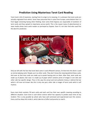 Learn Tarot Card Reading Courses in India | Tarot Card Reader