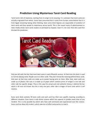 Learn Tarot Card Reading Courses in India | Tarot Card Reader