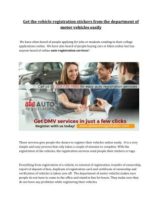 Dmv services los angeles